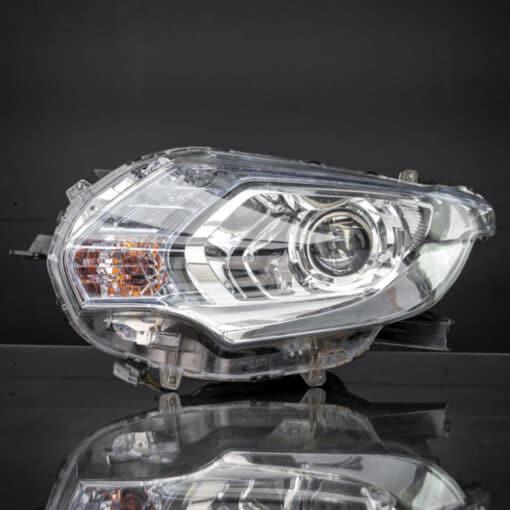 STEDI Mitsubishi MQ Triton HID Headlight Piggy Back Adapter Closeup 4