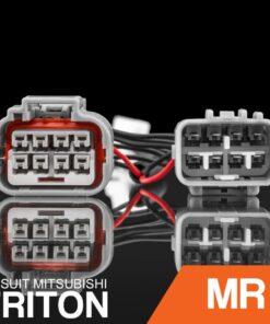STEDI Mitsubishi MR Triton HID Headlight Piggy Back Adapter