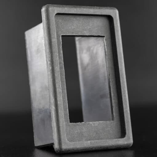 STEDI Single Panel Holder Housing for Rocker Switches Closeup