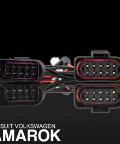 STEDI VW Amarok Headlight Piggy Back Adapter