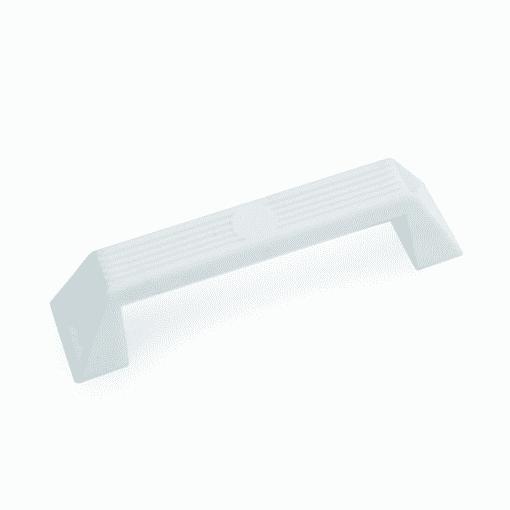 GRAB HANDLE PLASTIC - WHITE