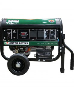 3.5 kVA Lister Petter Portable Generator with E-Start Side View