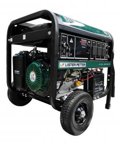8 kVA Lister Petter Portable Generator with E-Start
