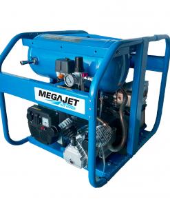 Megajet Ozy Vanguard Petrol 18HP Electric Start 4-in-1 Workstation
