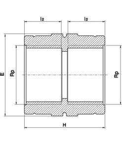 5010 Threaded Socket Diagram