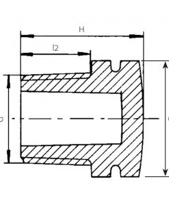 5170 Threaded Plug Diagram