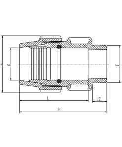 7020 Rural Male Adapter Diagram