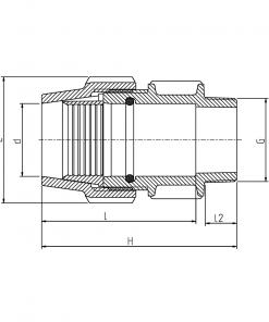 7030 Rural Female Adapter Diagram
